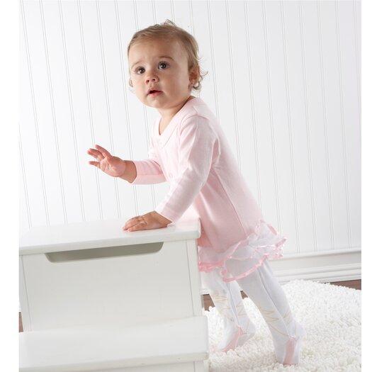"Baby Aspen ""Big Dreamzzz"" Baby Ballerina 2 Piece Layette Set"