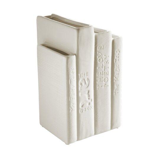 Seletti Biblio_tek Porcelain Books Vase