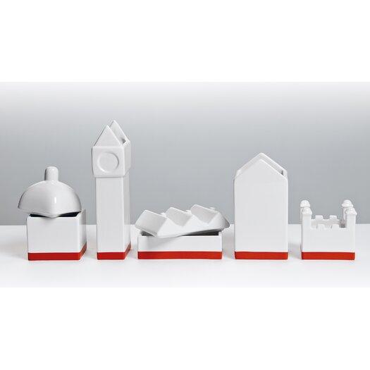 Desktructure the City Porcelain Desk Organizer Set