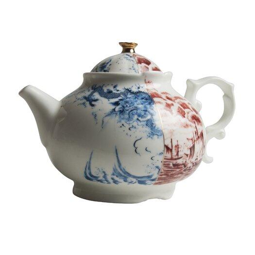 Seletti Hybrid Smeraldina Porcelain Teapot