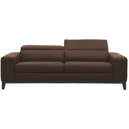Muse by HTL Leather Loveseat