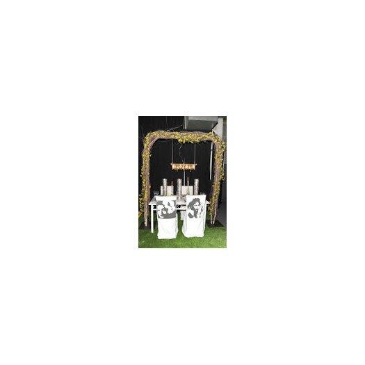 Michael McHale Designs Tribeca 8 Light Mini Banqueting Chandelier