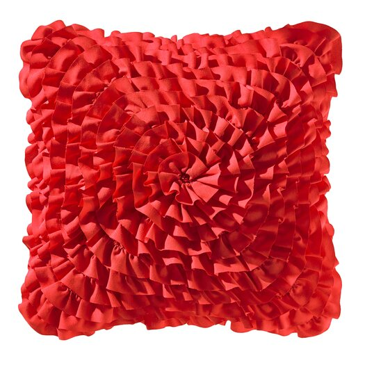 Teen Vogue Ruffle Decorative Throw Pillow