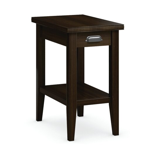 Caravel Downtown Chairside Table with Drawer