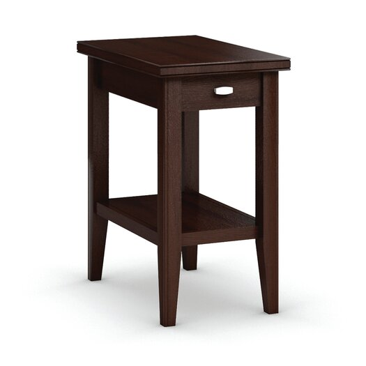 Caravel Bowery Chairside Table with Drawer