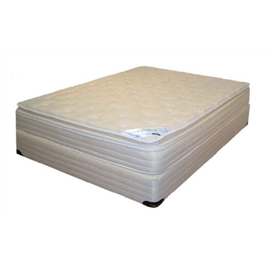 Classic Waterbeds Splendor Softside Deep Fill Waterbed Mattress and Foundation