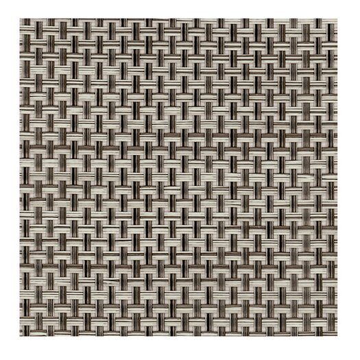 Chilewich Basketweave Oyster Floor Mat Area Rug