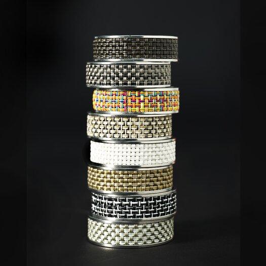 Chilewich Mini Basketweave Narrow Napkin Ring