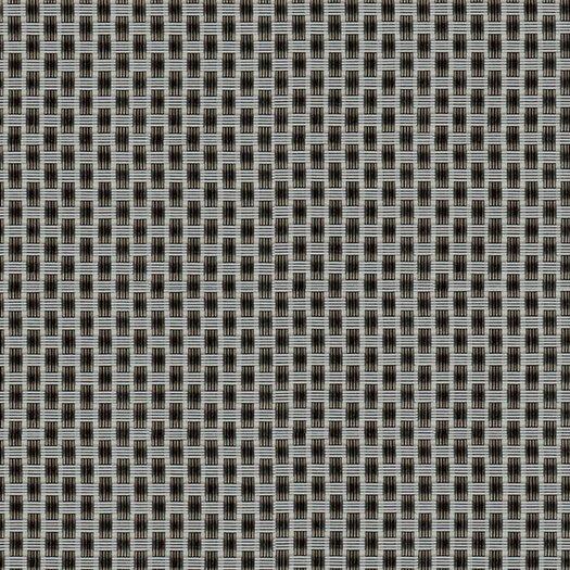 Chilewich Basketweave Titanium Floor Mat Area Rug
