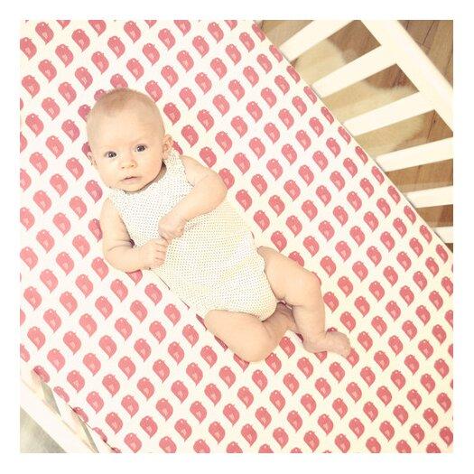 Flink Organic Crib Sheet Bird