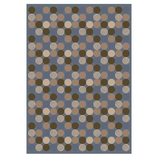 Milliken Innovation Da T Da Pale Lapis Area Rug
