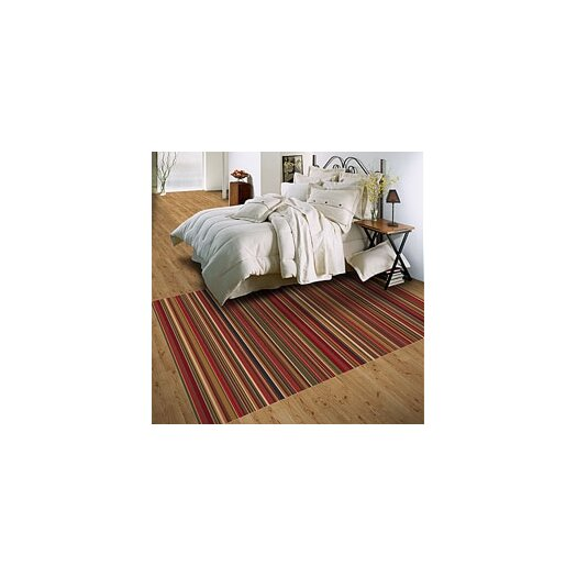 Milliken Modern Times Canyon Dark Red Area Rug