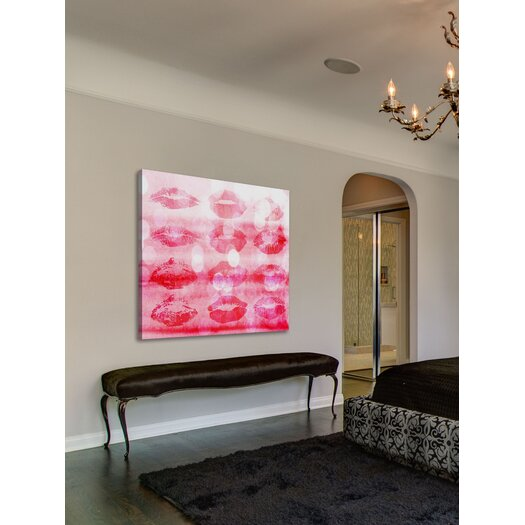 Marmont HIll Kisses All Over Painting Print on Canvas