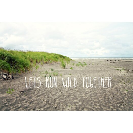 Lets Run Wild Together Painting Prints on Canvas
