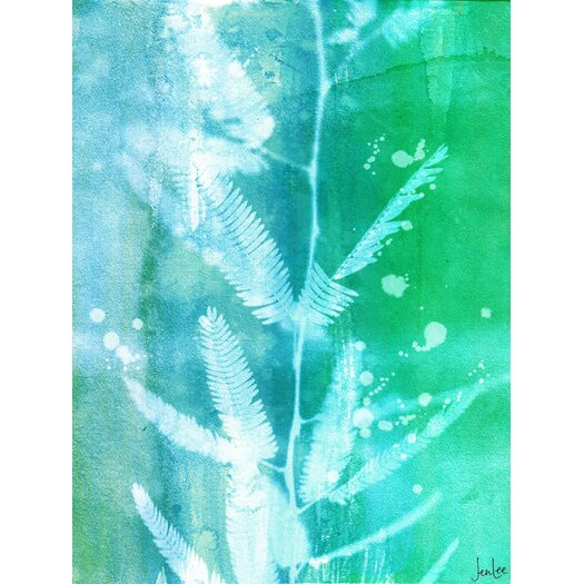 Leaf House Painting Prints on Canvas