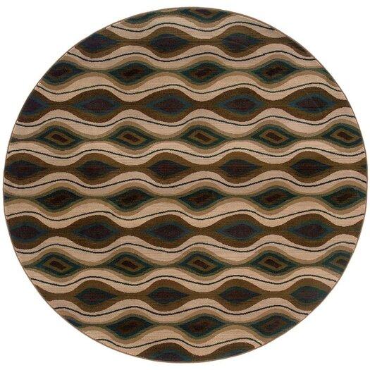 Oriental Weavers Odyssey Green/Beige Area Rug