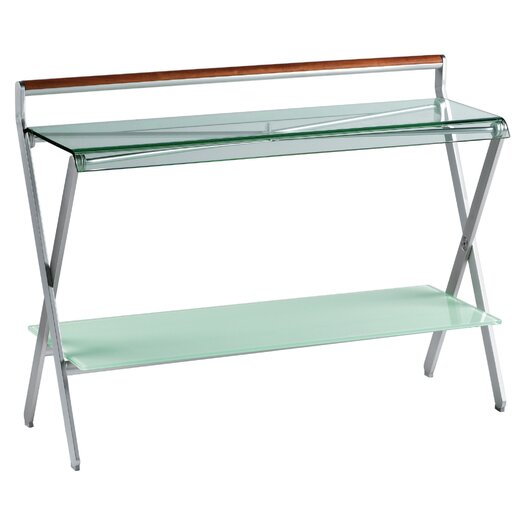 Sifas USA Oskar Console with Glass Top