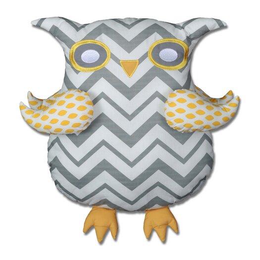 Snuggleberry Baby Nightie Night Owl 6 Piece Crib Bedding Collection w/ Storybook