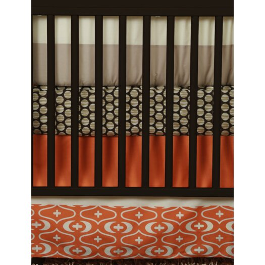 Snuggleberry Baby African Dream 6 Piece Crib Bedding Collection w/ Storybook