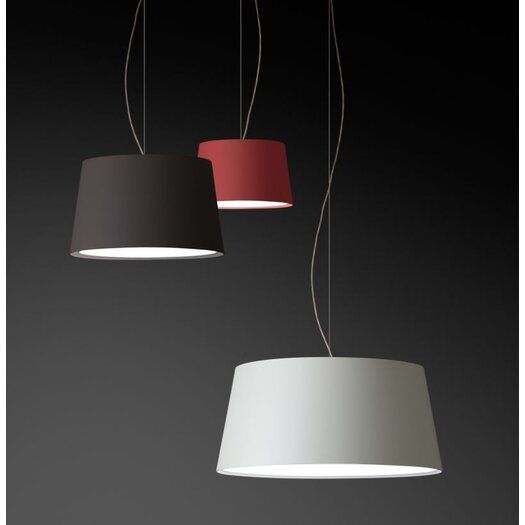 Vibia Warm Medium Pendant with Incandescent Bulb