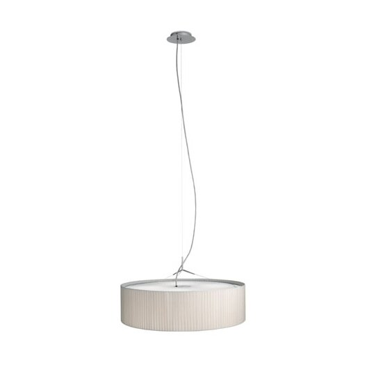 Vibia Plis 3 Light Drum Foyer Pendant