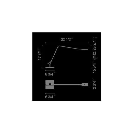 "Vibia Flex 23.5"" H Table Lamp"