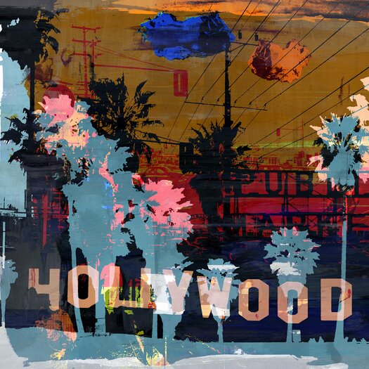 California Dreaming 2 Graphic Art on Canvas