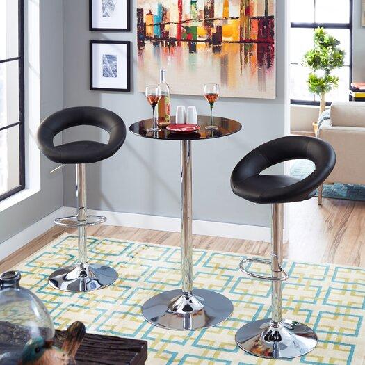 Zipcode Design Savannah Adjustable Height Bar Stool