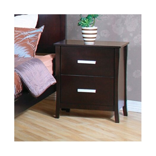 Wildon Home ® Newport 2 Drawer Nightstand