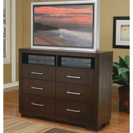 Wildon Home ® Jessica 6 Drawer Media Chest