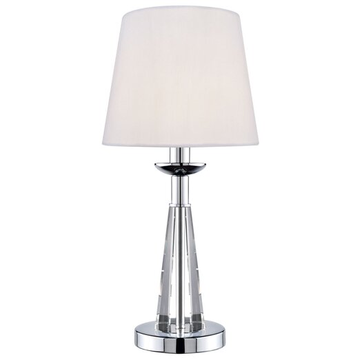 "Lite Source Tayden 15.5"" H Table Lamp with Empire Shade"