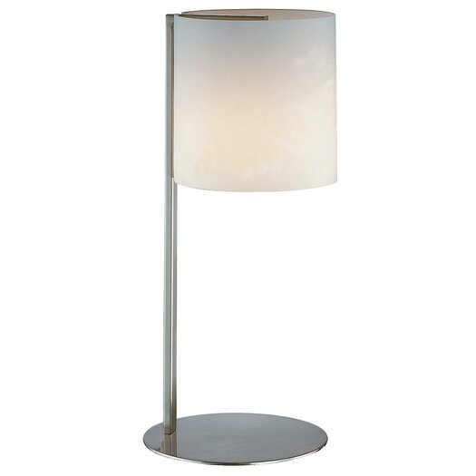 "Lite Source Velia 18.5"" H Table Lamp with Drum Shade"