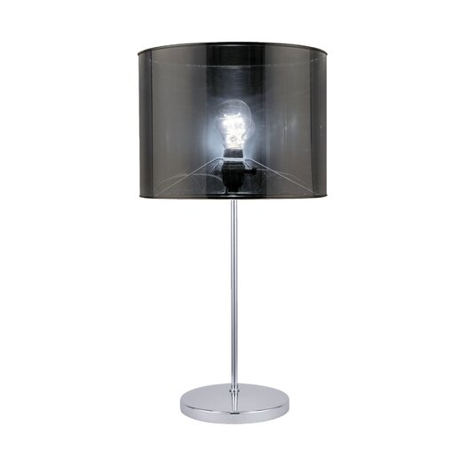 """Lite Source Lanza 23"""" H Table Lamp with Drum Shade"""