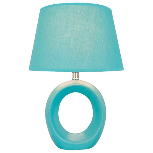 "Lite Source Bellona 17"" H Table Lamp with Empire Shade"
