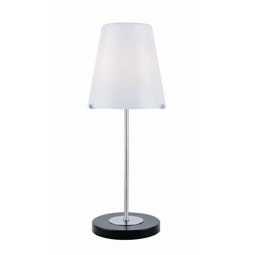 "Lite Source Decker 23"" H Table Lamp with Empire Shade"