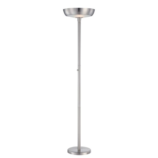 Lite Source Seneca 2 Light Reading Desk Floor Lamp
