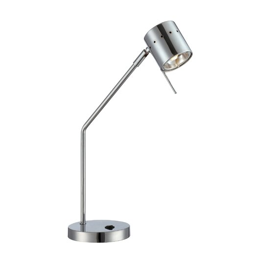 """Lite Source Tambika 20.5"""" H Table Lamp with Drum Shade"""