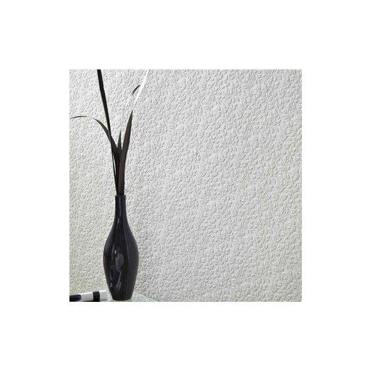 Graham & Brown Paintable Leaves Floral Botanical Embossed Wallpaper