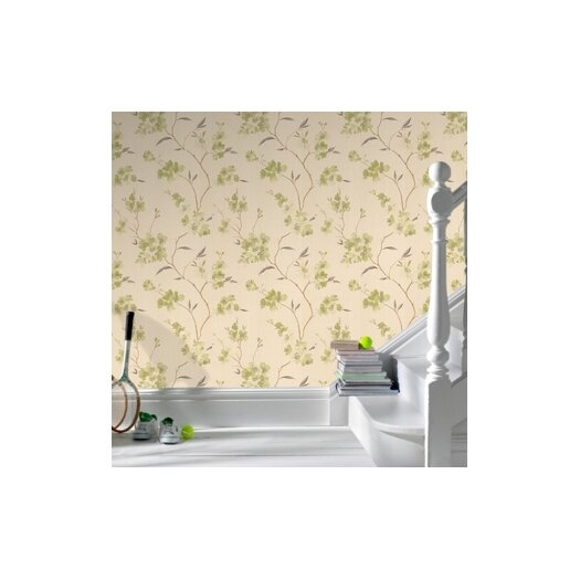 Graham & Brown Spirit Enthrall Floral Botanical Wallpaper