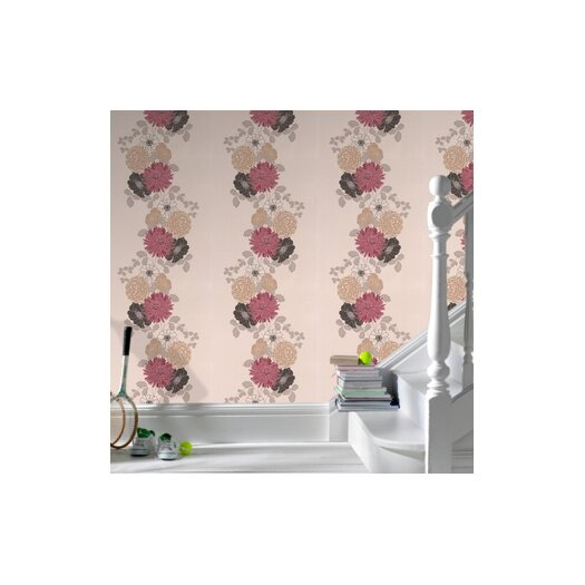 Graham & Brown Spirit Adore Floral Botanical Wallpaper