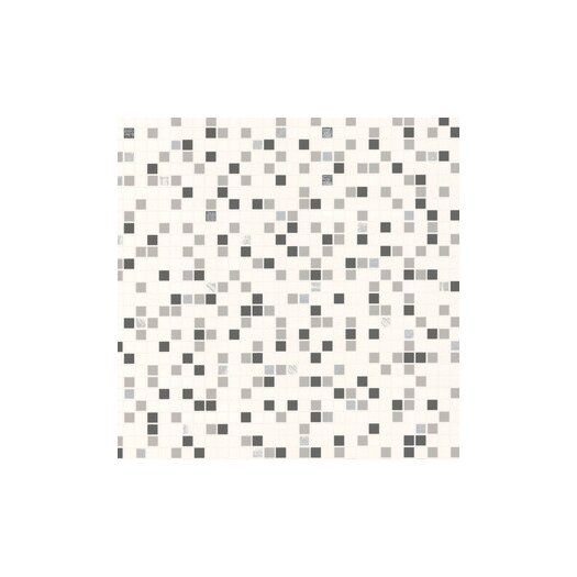 Graham & Brown Hi,Contour Checker Tiles Foiled Wallpaper