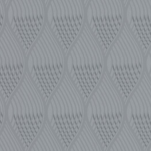 Graham & Brown Shape and Form Concave Geometric Foiled Wallpaper