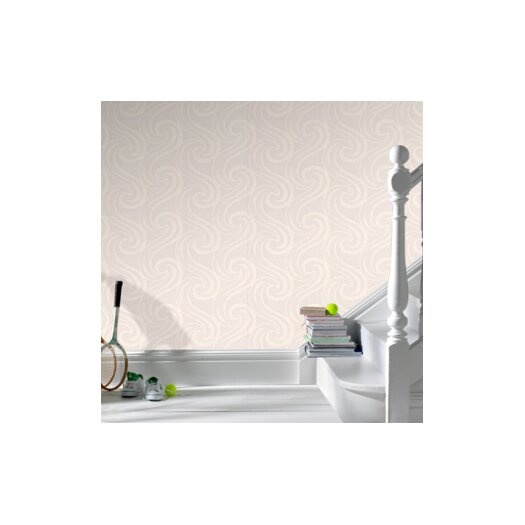Graham & Brown Paintable Mistral Geometric Wallpaper