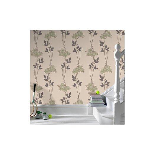 Graham & Brown Serenity Serene Floral Botanical Wallpaper