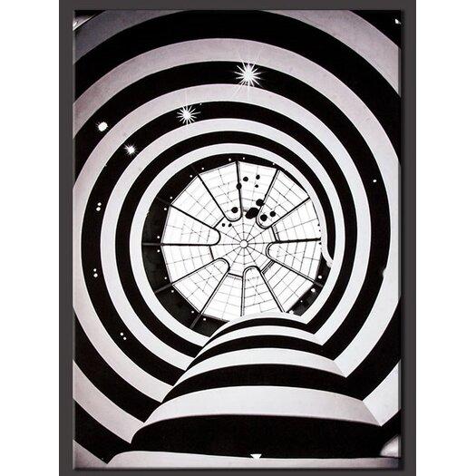 Guggenheim Spirals Photographic Print on Canvas