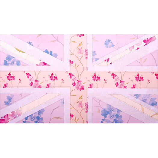 Graham and Brown Floral Britannia Painting Print on Canvas