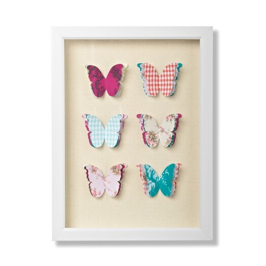 Graham & Brown Graham and Brown Butterflies Framed Graphic Art