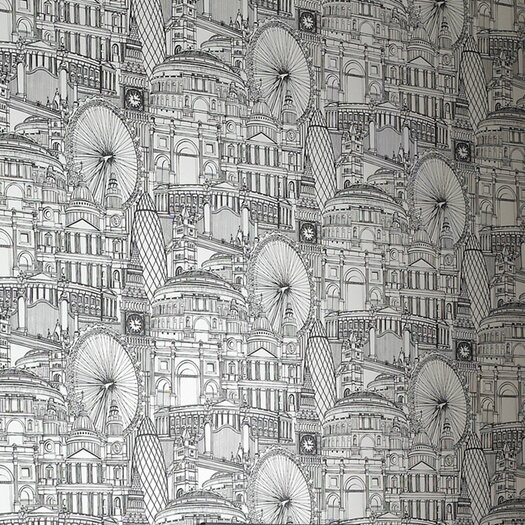Graham & Brown Londinium Motif Wallpaper