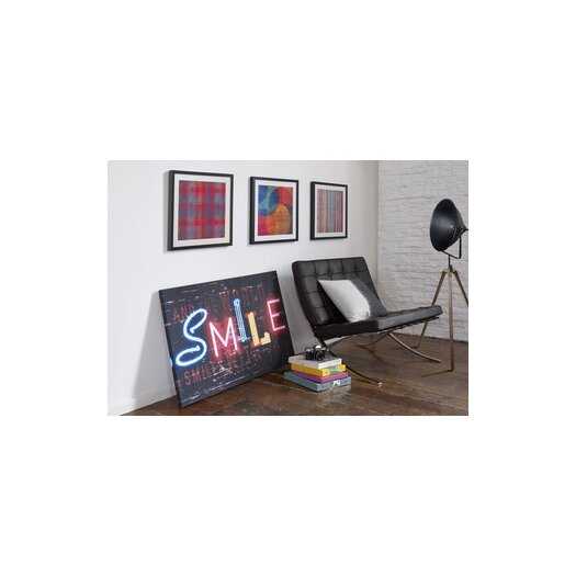 Graham & Brown Smile Graphic Art on Canvas