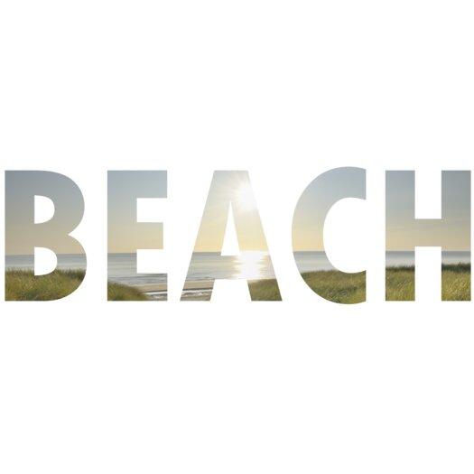Graham & Brown Beach Letters Wall Décor